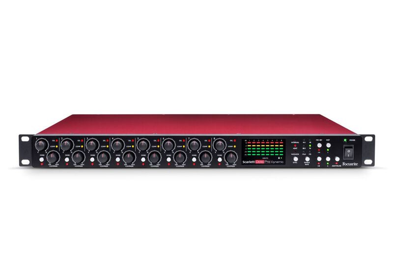Focusrite Scarlett OctoPre Dynamic Audio Interface