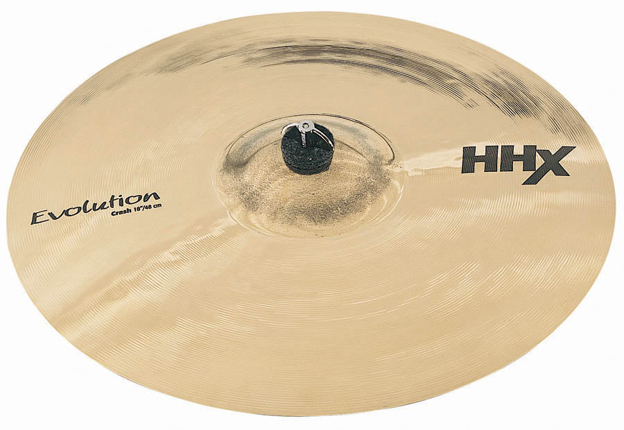 "Sabian 19"" HHX Evolution Crash Cymbal - Brilliant Finish"