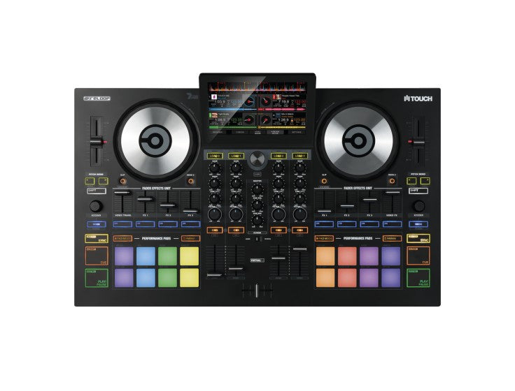 "Reloop Touch 7"" Full Colour Touchscreen Virtual DJ Controller"
