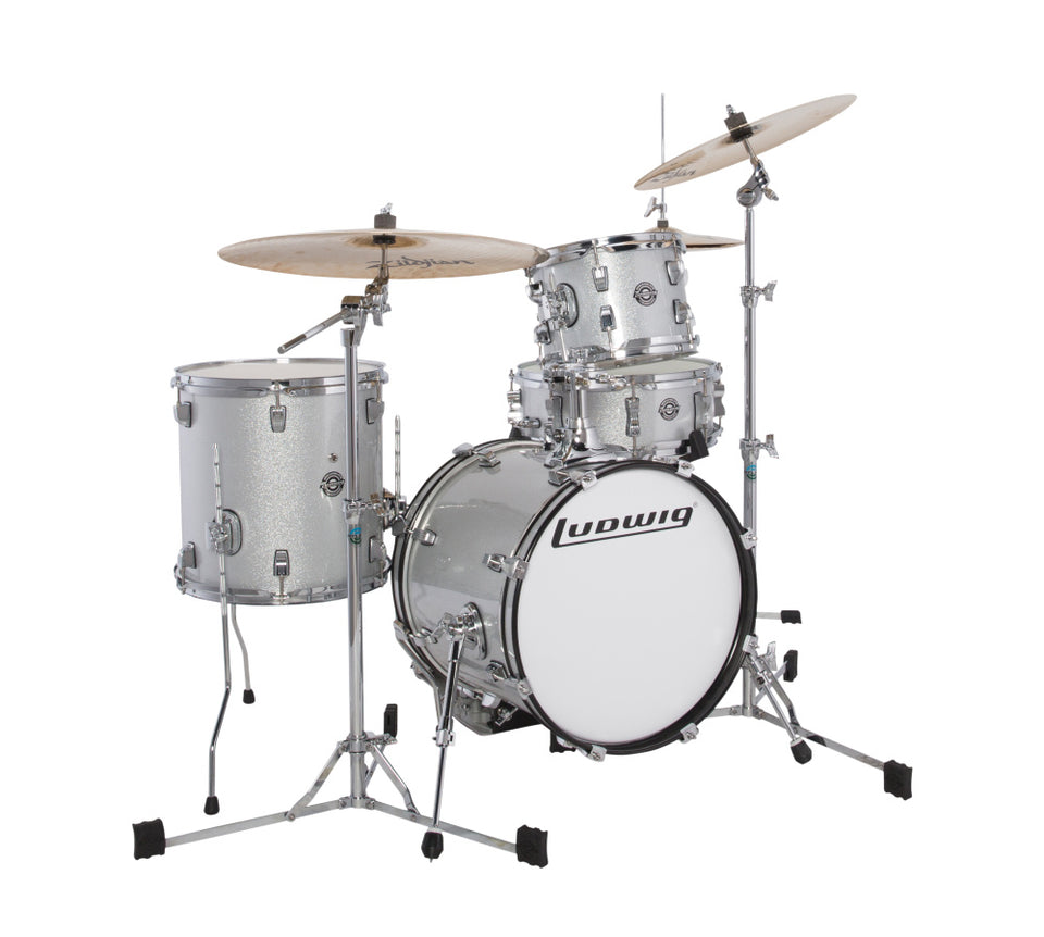 Ludwig Breakbeats by Questlove 4 Piece Drum Shell Pack