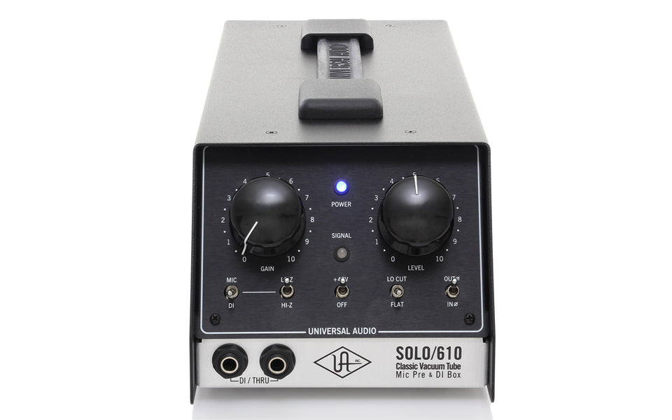 Universal Audio SOLO/610 Tube Preamp/DI Box - OPEN BOX
