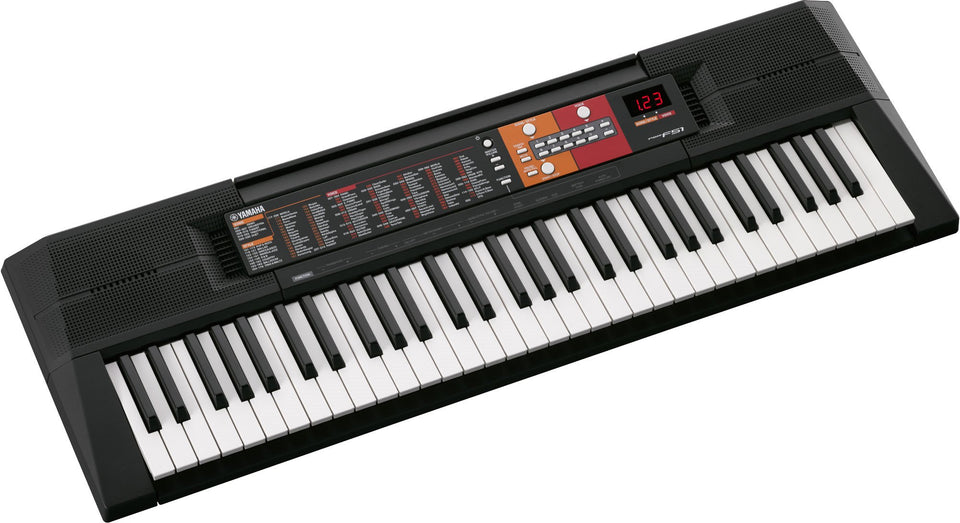Yamaha PSR-F51 Portable Keyboard W/ SK A2 Survival Kit