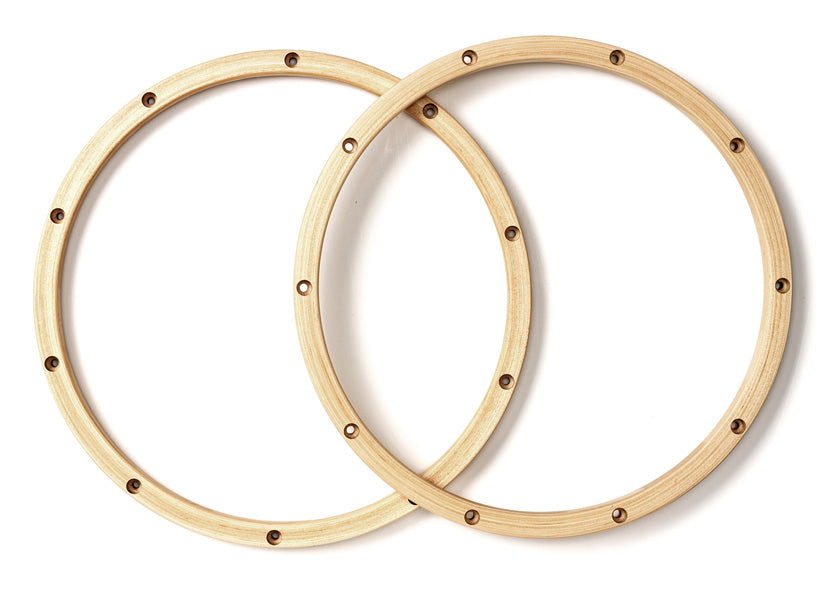 PDP PDAXWH1410P 14-Inch 10-Lug Wood Hoops For Snare, Pair