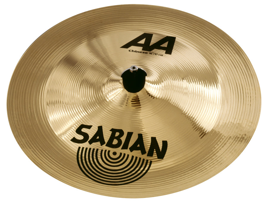 "Sabian 16"" AA Chinese Cymbal Brilliant Finish"