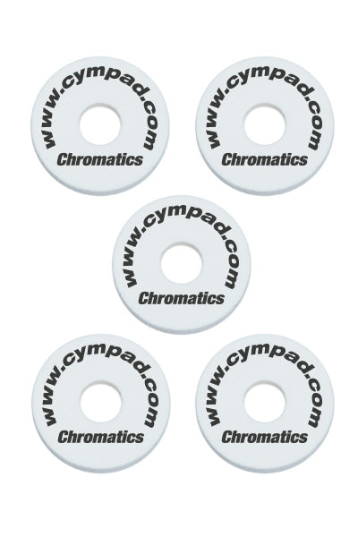 Cympad Chromatics Cymbal Enhancer Set - 40/15mm, White