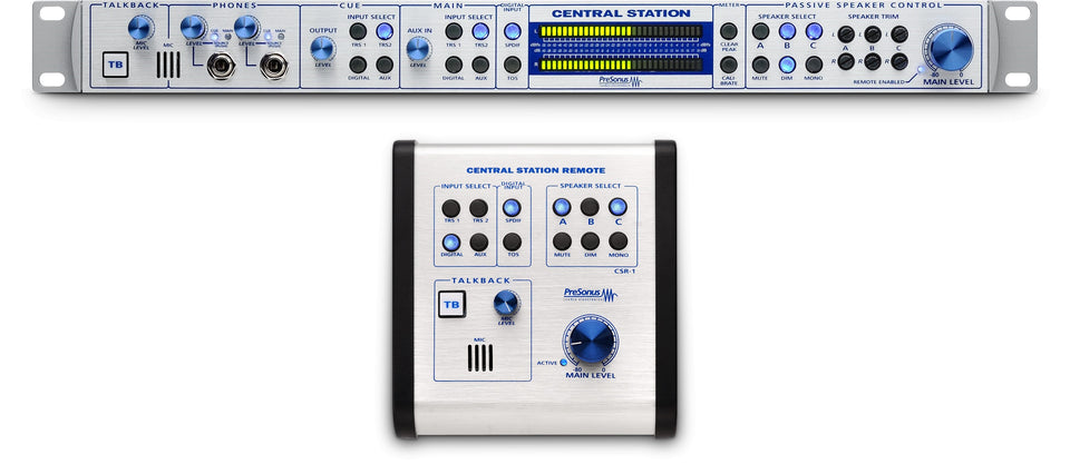 PreSonus Central Station PLUS Monitor Control System