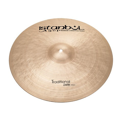 "Istanbul Agop 18"" Traditional Dark Crash Cymbal"