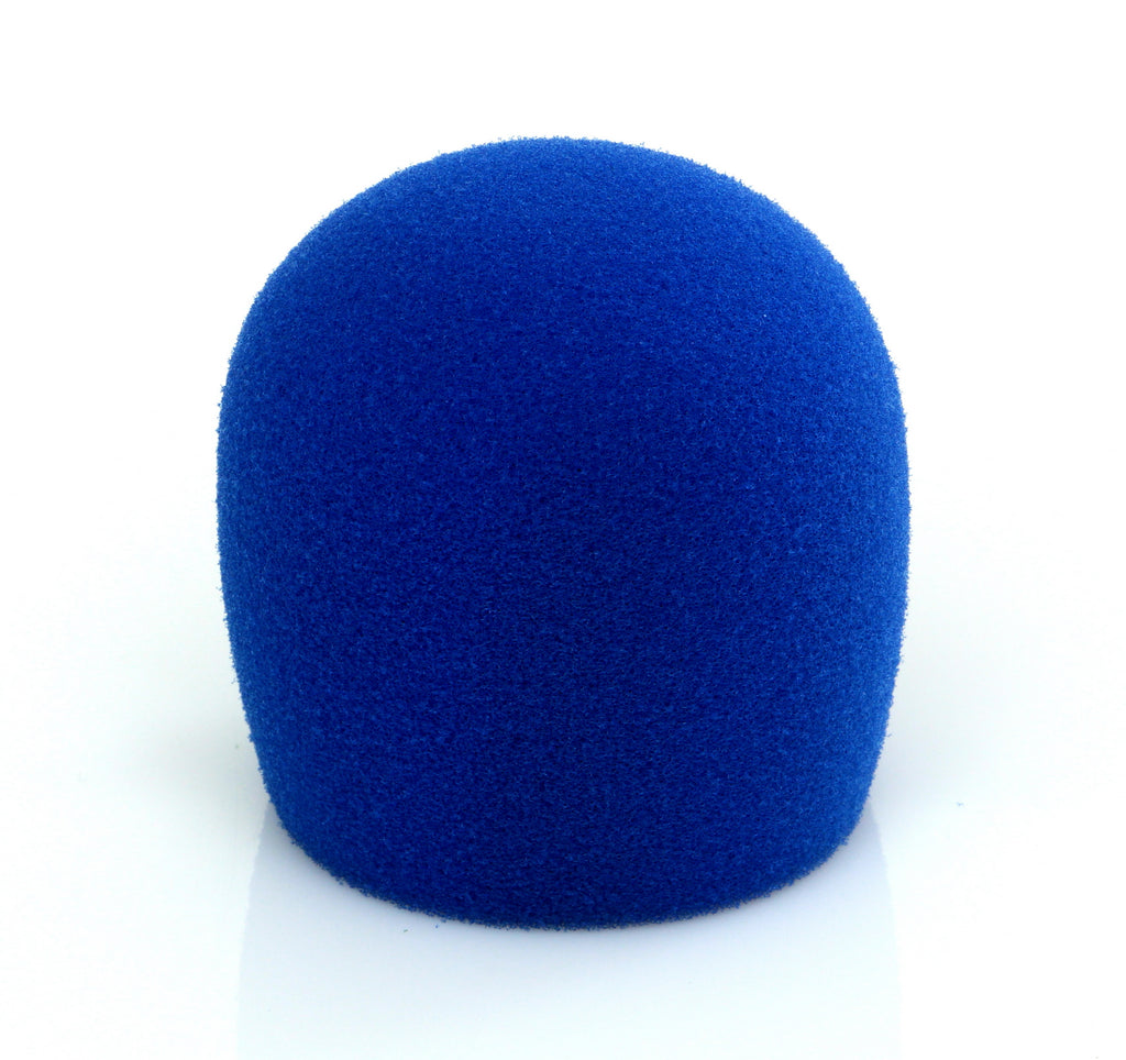 Shure A58WS-BLU Windscreen For Shure SM58 And Most Ball Style Microphones