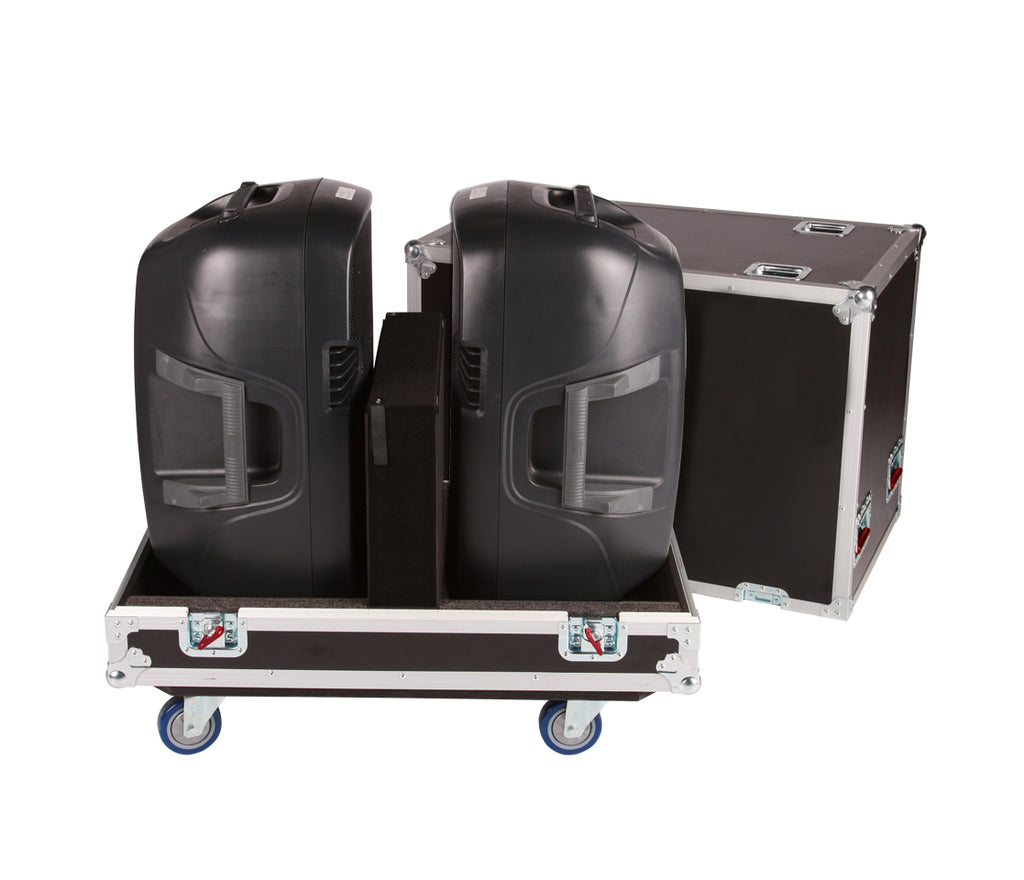 Gator Cases G-TOUR SPKR-215 Double Speaker Case