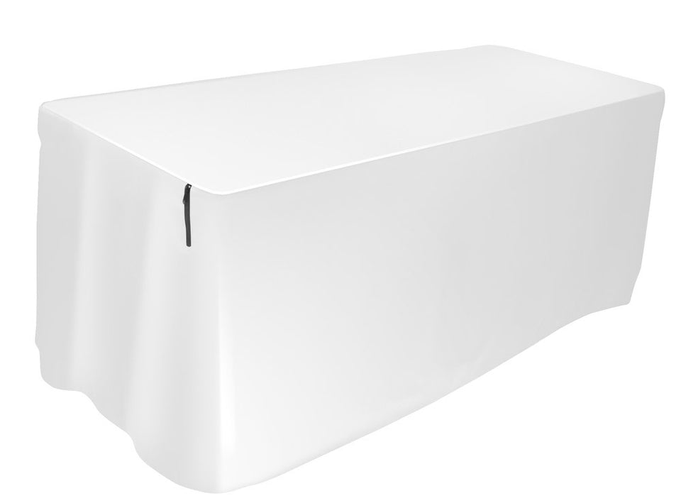 Ultimate Support USDJ-6TCW 6FT Form-Fitting Table Cover - White