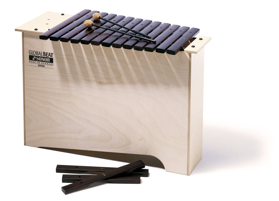 Sonor Orff GBX GB Deep Bass Xylophone - Hardwood Bars, Global Beat Series
