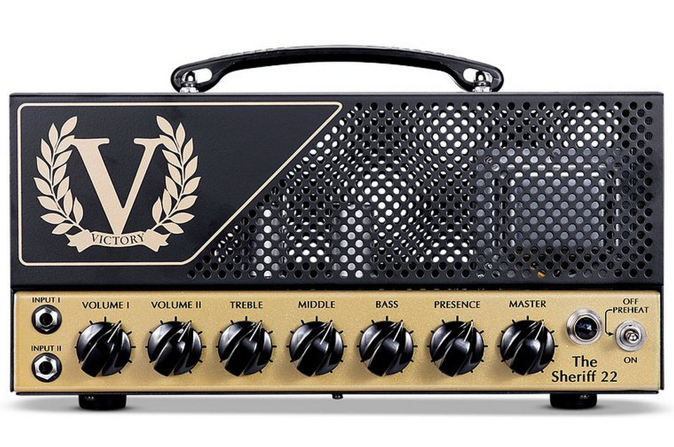 Victory Amps Sheriff 22 Dual Channel Amplifier Head