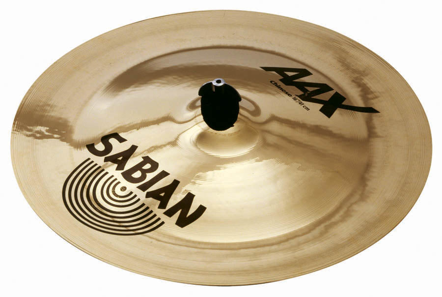 "Sabian 16"" AAX Chinese Cymbal Brilliant Finish"