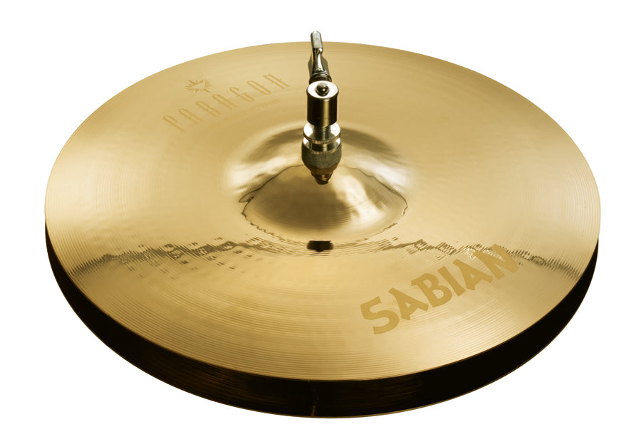 "Sabian 13"" Paragon Hi-Hat Cymbals Brilliant Finish"
