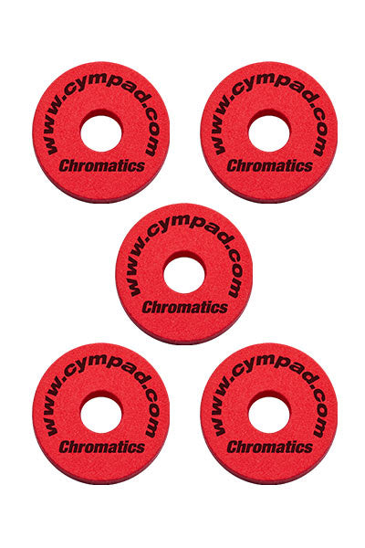 Cympad Chromatics Cymbal Enhancer Set - 40/15mm, Red