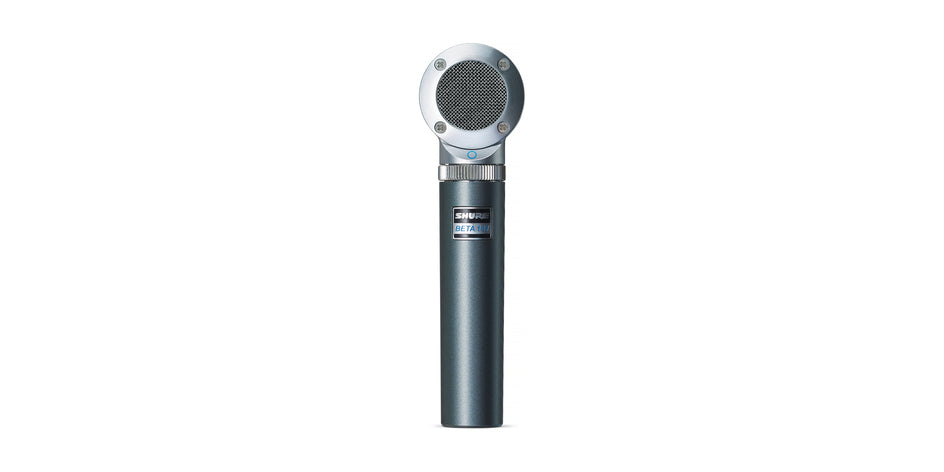 Shure Beta 181 Compact Side Address Condenser Microphone Kit - 4 Capsules