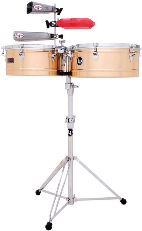 "LP LP1415-BZ Prestige 14"" And 15"" Timbales - Bronze"