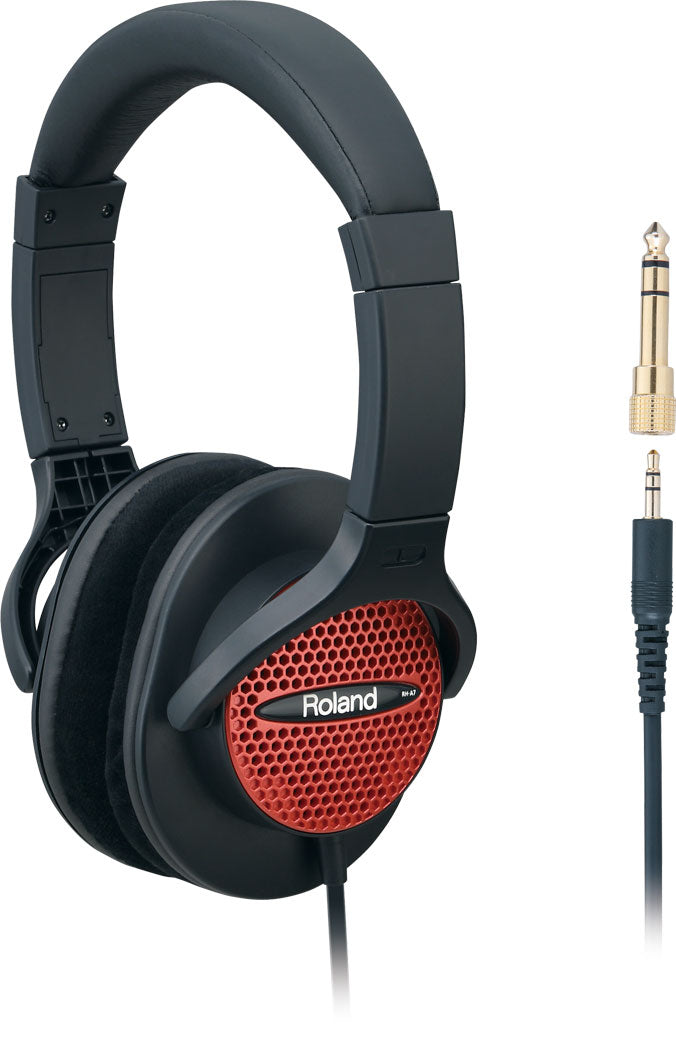 Roland RH-A7 Monitor Headphones - Red