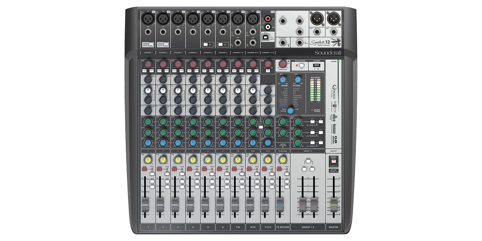 Soundcraft Signature 12 MTK Compact Analogue Mixer