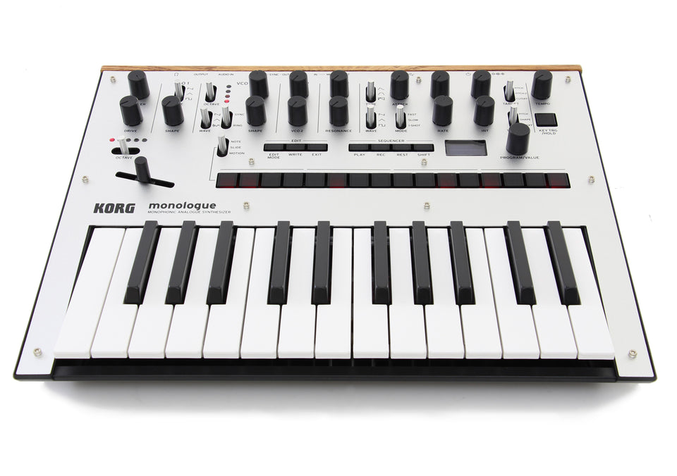 Korg monologue Monophonic Analogue Synthesizer - Silver