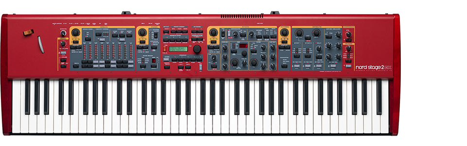 Nord Stage 2 EX HP76 76 Key Hammer Action Lightweight Digital Piano