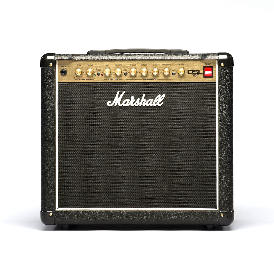 Marshall DSL15C 15W 1x12 Guitar Combo Amplifier