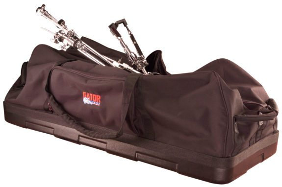 Gator Cases GP-HDWE-1436-PE Drum Hardware Bag, W/ Wheels, Molded Bottom