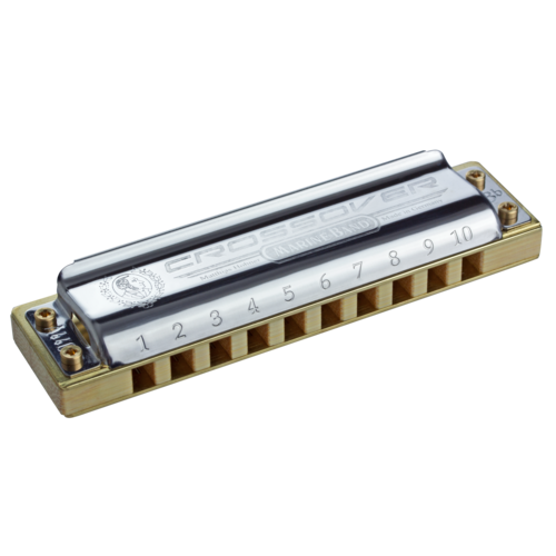 Hohner M2009BX-G Marine Band Crossover Harmonica, Key of G