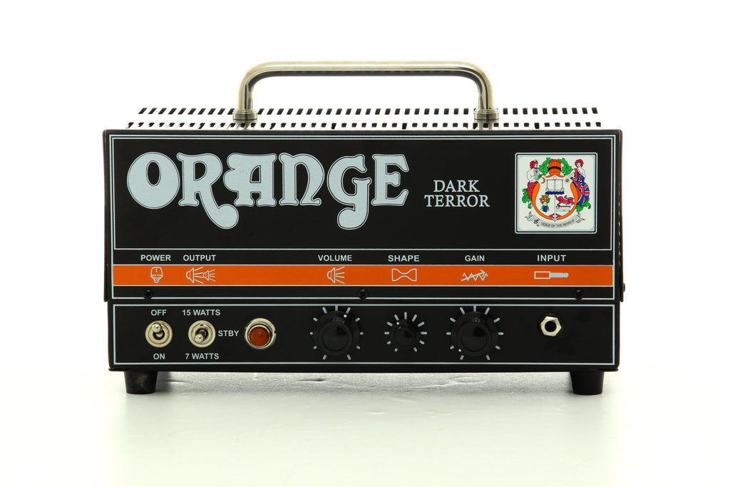 Orange Dark Terror DA15H Guitar Amp Head - Black