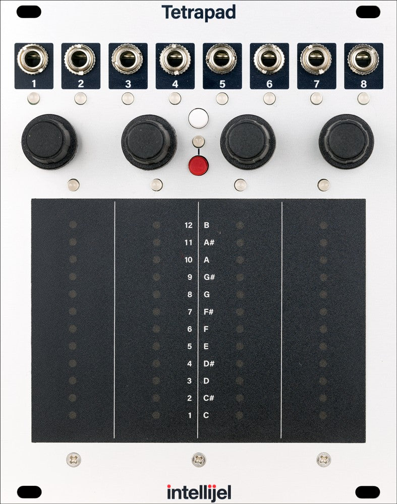 Intellijel Tetrapad Multi-Dimensional Performance Touch Controller Module