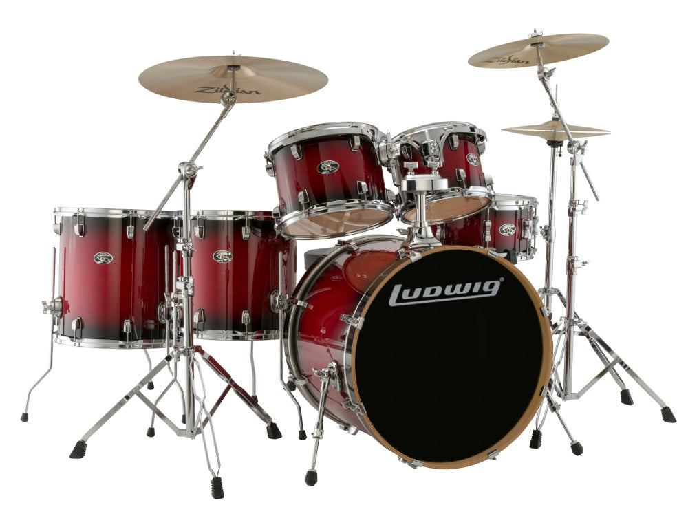 Ludwig Evolution Maple 6 Piece Drum Shell Pack