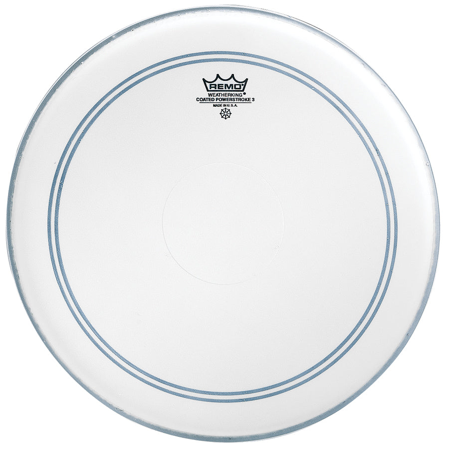 Remo Coated Powerstroke 3 Drum Head With Dot