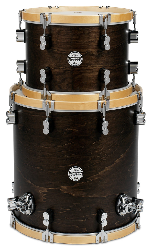 PDP PDCCTMPK02TN Concept Maple Classic Tom Pack - Walnut / Natural