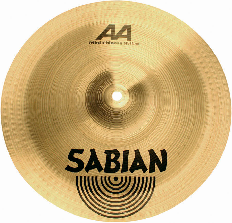 "Sabian 14"" AA Mini Chinese Cymbal Brilliant Finish"