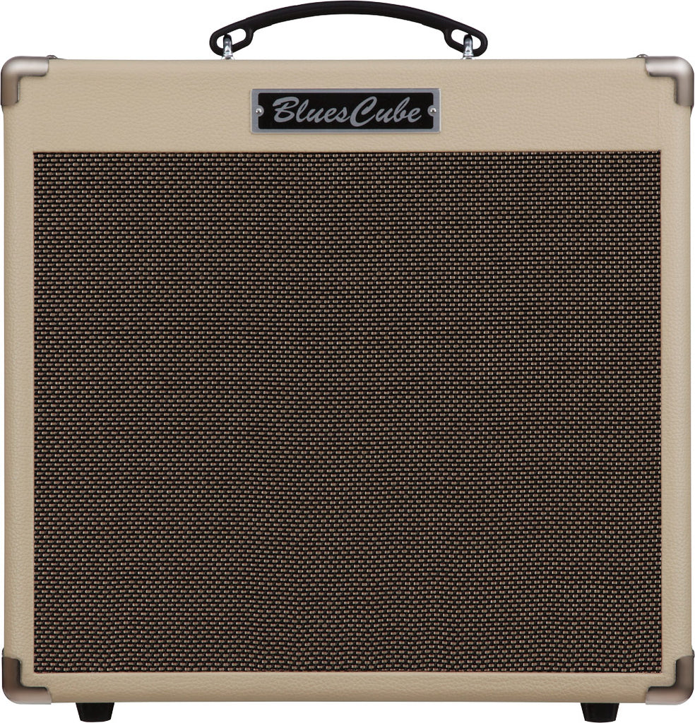 Roland Blue Cube Hot Guitar Combo Amp - Vintage Blonde