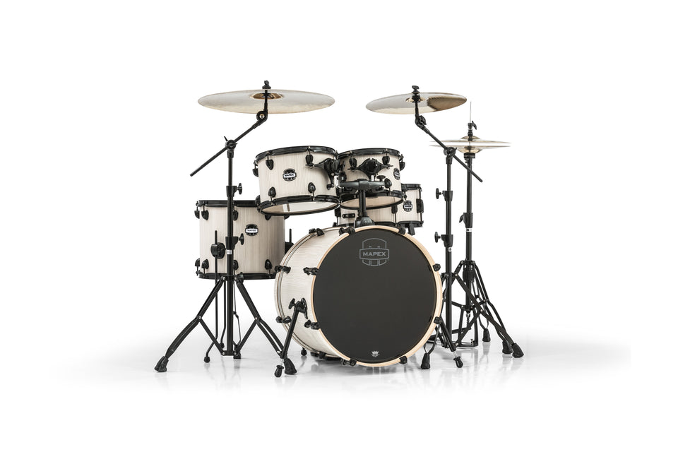 Mapex Mars Series 5-Piece Fusion Shell Pack Bonewood With Black Hardware