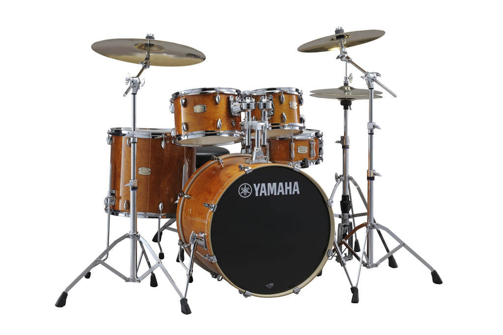 "Yamaha Stage Custom Birch 22"" Kick 5 Piece Shell Pack - Honey Amber"