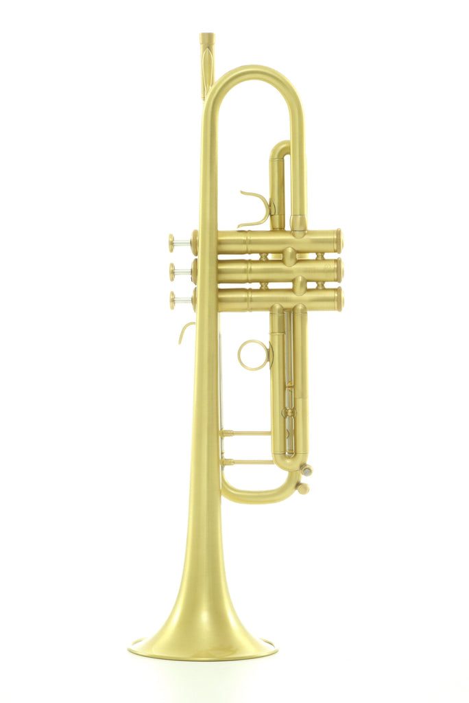 Scodwell Las Vegas B-Flat Trumpet, Brushed Lacquer