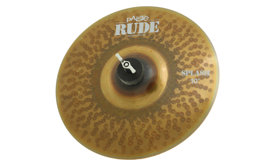 "Paiste 10"" Rude Splash Cymbal"