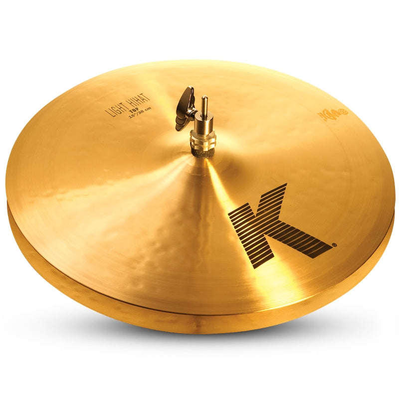 "Zildjian 15"" K Light Hi-Hat Cymbal - Top"