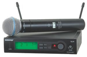 Shure SLX24/BETA58 Wireless System With Beta 58A Capsule