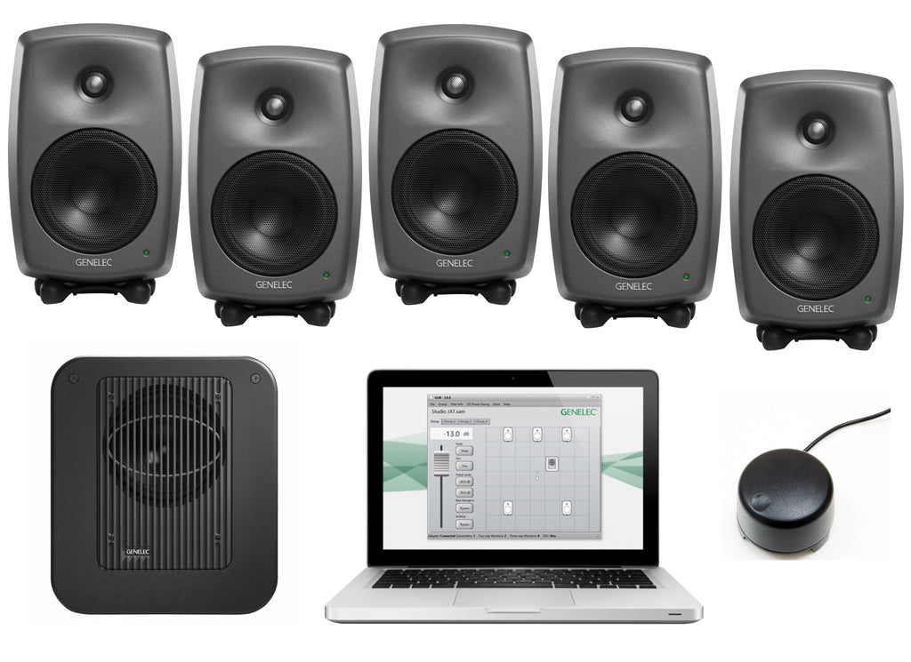 Genelec 8330.LSE Surround SAM Series Monitor Package