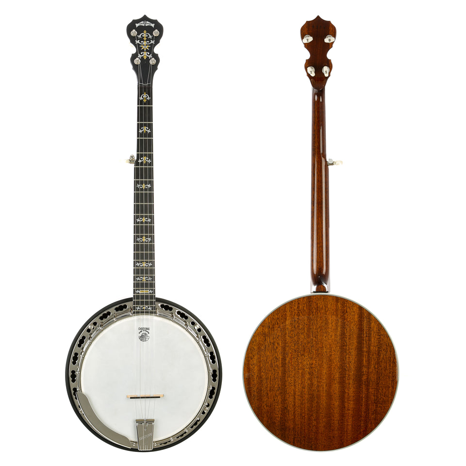 Deering Deluxe 5 String Banjo - Mahogany Resonator And Neck