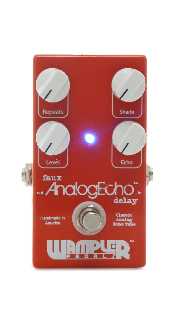 Wampler Faux AnalogEcho Effect Pedal