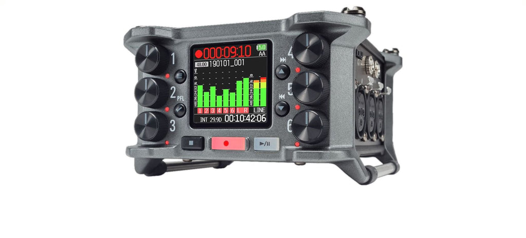 Zoom F6 32-Bit Multi-Track Field Recorder