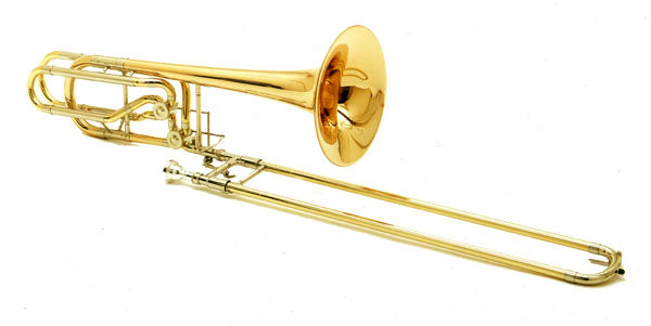 Conn 62H Professional Model Bass Trombone Outfit
