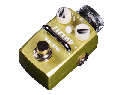 Hotone Skyline Series LIFTUP Clean Boost Stomp Box