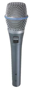 Shure BETA87C Series Vocal Condenser Microphone (Cardioid)