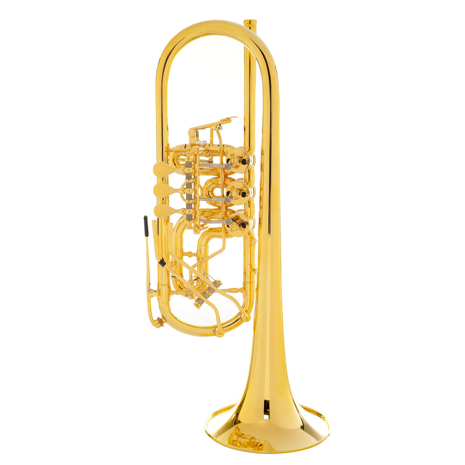 Schagerl Berlin Heavy Z Gold Plated C Trumpet