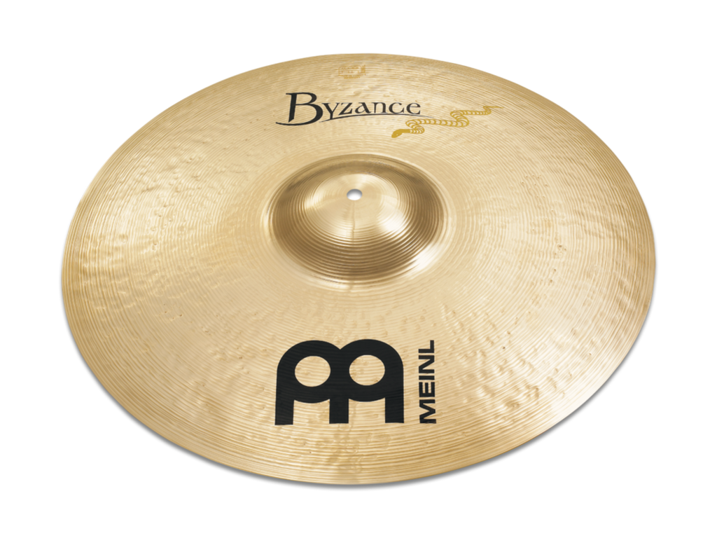 "Meinl 21"" Byzance Brilliant Serpents Ride Cymbal"